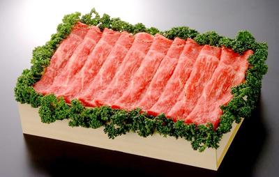 【冷凍】佐賀産和牛ももスライス/約400g