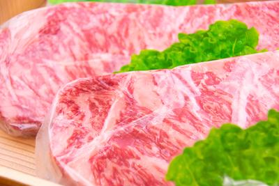 【冷凍】佐賀産和牛ロースステーキ/400g(約200g2枚/送料無料)