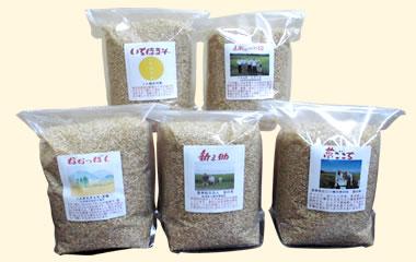 土づくり農法米詰め合わせ