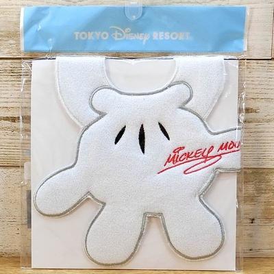 東京ディズニーリゾート ディズニー 通販 ミッキーマウス ハンド スタイ 無料ギフトラッピング よだれかけ TDR ディズニーランド ディズニーシー ミッキー おみやげ お土産 ギフト エプロン