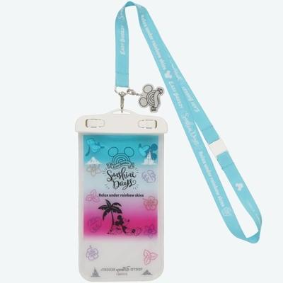 東京ディズニーリゾート ディズニー 通販 サンシャイン デイズ ミッキーマウス スマートフォン ケース 無料ギフトラッピング TDR ミッキー スマホケース おみやげ お土産 防水ケース