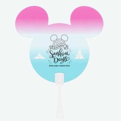 東京ディズニーリゾート ディズニー 通販 サンシャイン デイズ ミッキーマウス うちわ 無料ギフトラッピング TDR ディズニーランド ディズニーシー ミッキー 団扇 おみやげ お土産