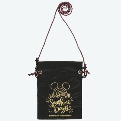 東京ディズニーリゾート ディズニー 通販 サンシャイン デイズ ミッキーマウス ショルダーバッグ ブラック 無料ギフトラッピング TDR ミッキー バッグ おみやげ お土産 ミニショルダー