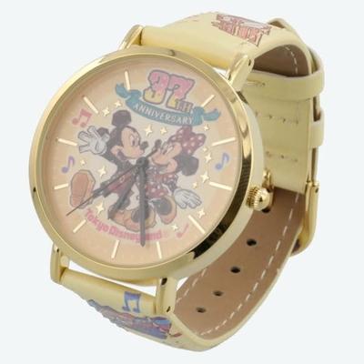 東京ディズニーランド ディズニー 通販 37周年 ミッキーマウス ミニーマウス ウォッチ 無料 ギフトラッピング ミニー TDL ディズニーリゾート ディズニーシー 時計 おみやげ お土産 腕時計