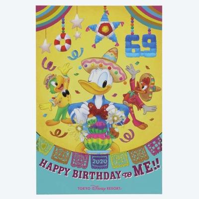 東京ディズニーシー ディズニー 通販 2020 ドナルドダック バースデー ポストカード ポストカード 無料ギフトラッピング ドナルド おみやげ 土産 ホセ キャリオカ パンチート 葉書 ハガキ
