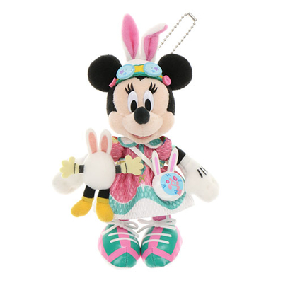 東京ディズニーランド ディズニー 通販 イースター 2021 うさたま ぬいぐるみ バッジ ぬいば ミニーマウス 無料ギフトラッピング TDL ディズニーリゾート ディズニーシー ミニー おみやげ