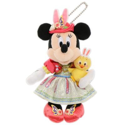 東京ディズニーシー ディズニー イースター 2021 うさピヨ ミニーマウス ぬいぐるみ バッジ ぬいば 無料ギフトラッピング TDS ディズニーリゾート ディズニーランド おみやげ うさぴよ バッチ