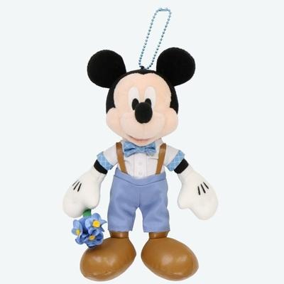 東京ディズニーリゾート ディズニー ブルー エバーアフター ミッキーマウス ぬいぐるみ バッジ 無料ギフトラッピング TDR ディズニーランド ディズニーシー ミッキー おみやげ お土産 バッチ