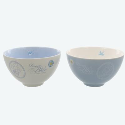 東京ディズニーリゾート ディズニー 通販 ブルー エバーアフター ミッキーマウス ミニーマウス 茶碗 ペア セット 無料ギフトラッピング TDR ランド シー ミッキー ミニー おみやげ 土産 茶わん