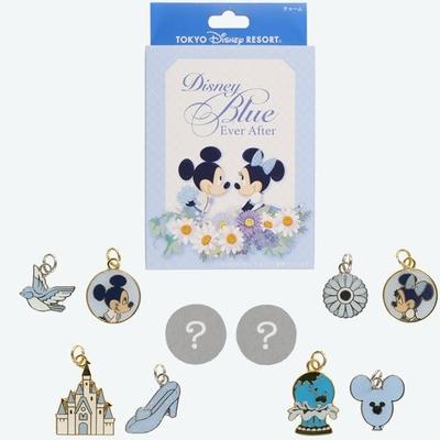 東京ディズニーリゾート ディズニー 通販 ブルー エバーアフター ミッキーマウス ミニーマウス チャーム 全種類 セット 無料ギフトラッピング TDR ランド シー おみやげ お土産 コンプリート