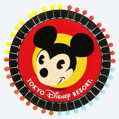 東京ディズニーリゾート ディズニー 通販 ハンディー クラフト まち針 ミッキーマウス 無料ギフトラッピング TDR ディズニーランド ディズニーシー ハンディークラフト おみやげ お土産 ミッキー