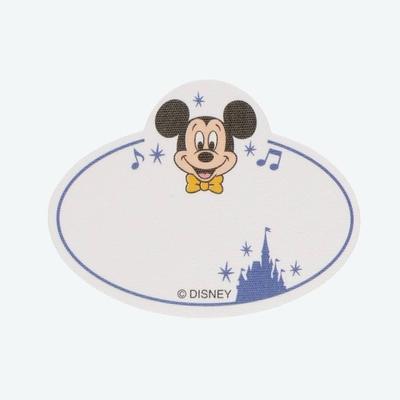東京ディズニーリゾート ディズニー 通販 ハンディー クラフト ネームタグ ステッカー ミッキーマウス 無料ギフトラッピング TDR ディズニーランド ディズニーシー 名前シール アイロンシール