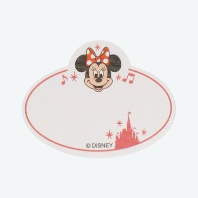 東京ディズニーリゾート ディズニー 通販 ハンディー クラフト ネームタグ ステッカー ミニーマウス 無料ギフトラッピング TDR ディズニーランド ディズニーシー 名前シール アイロンシール