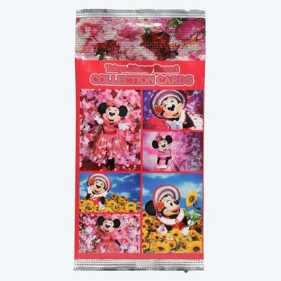 東京ディズニーリゾート ディズニー ファッション ハイツ ミニーマウス コレクションカード 6枚セット 無料ギフトラッピング  ディズニーランド ディズニーシー   おみやげ ホログラム  蜷川実花