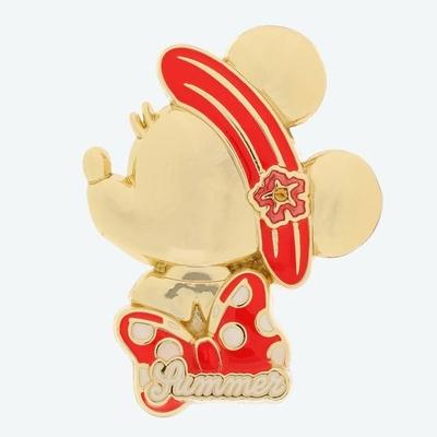 東京ディズニーランド ディズニー 通販 スタイルスタジオ ピンバッジ ミニーマウス 夏 無料ギフトラッピング TDL ディズニーリゾート ディズニーシー ミニー おみやげ お土産 ピンバッチ ピンズ