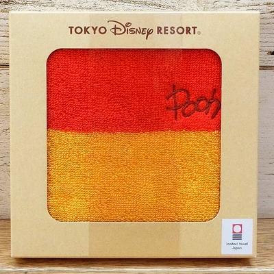 東京ディズニーリゾート ディズニー 通販 くまのプーさん 今治 日本製 箱入り ミニタオル 無料ギフトラッピング TDR ディズニーランド ディズニーシー プーさん おみやげ お土産