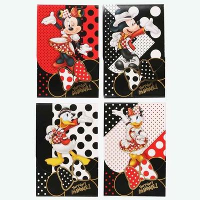 東京ディズニーランド ディズニー 通販 ベリーベリーミニー ミニーマウス メモ 4個セット 無料 ギフトラッピング ミニー TDL ディズニーリゾート ディズニーシー メモパッド おみやげ メモ帳