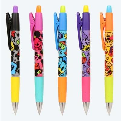 東京ディズニーリゾート ディズニー 通販 カラー フェイシーズ 5キャラクター シャープペン5本セット 0.5mm 無料ギフトラッピング ミッキー ミニー ドナルド デイジー チップ&デール お土産