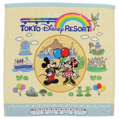 東京ディズニーリゾート The Tokyo Disney Resort シリーズ ディズニー 通販 オールキャラクター ウォッシュタオル ハンドタオル ゲストタオル 無料ギフトラッピング おみやげ