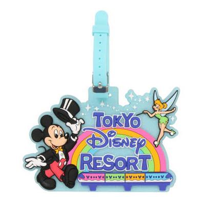 東京ディズニーリゾート The Tokyo Disney Resort シリーズ ディズニー 通販 オールキャラクター ラゲージタグ 無料 ギフトラッピング TDR おみやげ お土産 ネームタグ 旅行