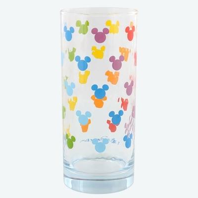 東京ディズニーリゾート 通販 ディズニー ミツマル シェイプ レインボー グラス ミッキーマウス 無料ギフトラッピング ディズニーランド ディズニーシー おみやげ お土産 ミッキー コップ タンブラー