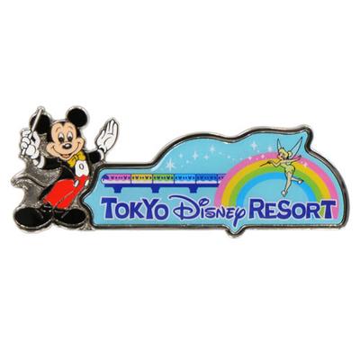 東京ディズニーリゾート The Tokyo Disney Resort シリーズ ディズニー 通販 オールキャラクター ピンバッジ 無料 ギフトラッピング ピンバッチ ディズニーランド ディズニーシー