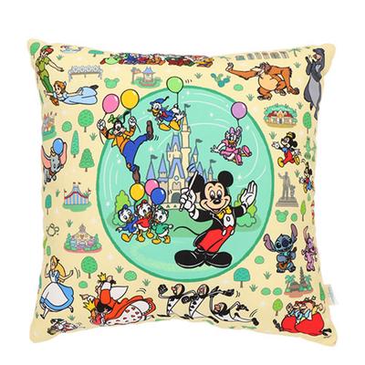 東京ディズニーリゾート The Tokyo Disney Resort シリーズ ディズニー 通販 ミッキーマウス クッション 無料ギフトラッピング ミッキー おみやげ お土産 角型