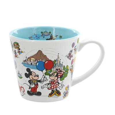 東京ディズニーリゾート The Tokyo Disney Resort シリーズ ディズニー 通販 オールキャラクター ミッキーマウス マグカップ 無料 ギフトラッピング マグ カップ おみやげ