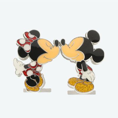 東京ディズニーリゾート ディズニー 通販 ミッキーマウス ミニーマウス スタンドクリップ フォトクリップ メモクリップ ハート キッス 2個セット 無料ギフトラッピング おみやげ お土産 キス
