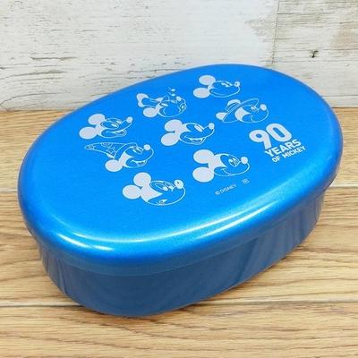 ディズニー 通販 ミッキーマウス ミニーマウス 90周年 トゥルーオリジナル 漆器 小判型 ランチ 弁当箱 無料ギフトラッピング ランチボックス おみやげ お土産 日本製 中子付 ランチベルト付