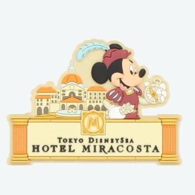 東京ディズニーシー ディズニー 通販 ホテルミラコスタ 限定 デコレーション マグネット ミッキーマウス 無料ギフトラッピング TDS ディズニーリゾート 磁石 おみやげ お土産 ミラコスタ ミッキー