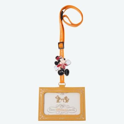 東京ディズニーランド ディズニー 通販 ディズニーランドホテル 限定 パスケース ミッキーマウス 無料ギフトラッピング TDL ディズニーリゾート 定期入れ ICカード ホルダー お土産 ランドホテル