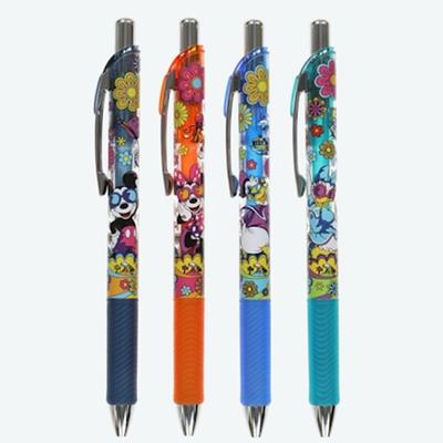 東京ディズニーリゾート ディズニー 通販 ミッキー ミニー ドナルド デイジー ゲルインク ボールペン 4本セット インク:4色 0.5mm 無料ギフトラッピング お土産 サマー サングラス