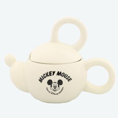東京ディズニーリゾート ディズニー 通販 ミッキーマウス フェイス シェイプ 蓋付き マグカップ 白 無料ギフトラッピング TDR ディズニーランド ディズニーシー マグ ミッキー おみやげ お土産