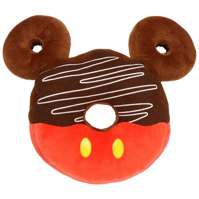 東京ディズニーリゾート ディズニー 通販 ミッキーマウス ドーナツ ミツマル アイコン ラウンド クッション 無料ギフトラッピング ランド シー ミッキー ドーナッツ おみやげ お土産 円形 丸型