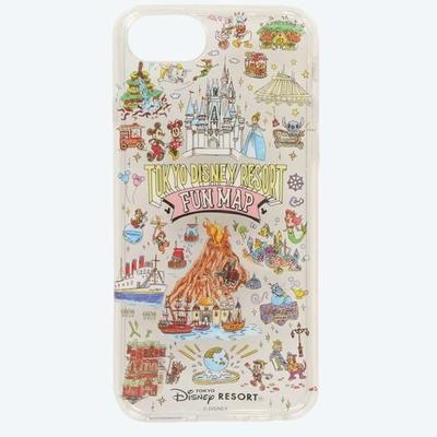 東京ディズニリゾート ディズニー 通販 オールキャラクター ファンマップ iPhone 6 6S 7 8 SE(4.7インチ) スマホケース 無料ギフトラッピング アイスキャンディ アイフォン 土産