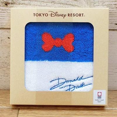 東京ディズニーリゾート ディズニー 通販 ドナルドダック 今治 日本製 箱入り ミニタオル 無料ギフトラッピング TDR ディズニーランド ディズニーシー ドナルド おみやげ お土産