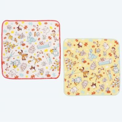東京ディズニーリゾート ディズニー 通販 ミッキーマウス トイストーリー ふきん 2枚セット 無料ギフトラッピング TDR ミッキー お土産 カウンタークロス 布巾 日本製 ジグソー パズル