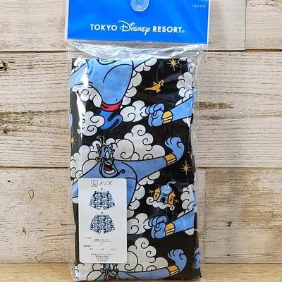 東京ディズニーリゾート ディズニー 通販 ジーニー アラジン ボクサーパンツ Lサイズ ギフトラッピング TDR ランド ディズニーシー おみやげ お土産 パンツ 下着 肌着 アラジンと魔法のランプ