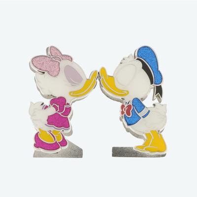 東京ディズニーリゾート ディズニー 通販 ドナルドダック デイジーダック スタンドクリップ フォトクリップ メモクリップ ハート キッス ドナルド デイジー 2個セット ギフトラッピング お土産 キス