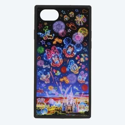 東京ディズニーリゾート 通販 ディズニー 夜空 スマートフォン ケース 無料ギフトラッピング TDR ランド シー スマホ アイフォーン iPhone iPhone6 6s 7 8 SE(4.7インチ