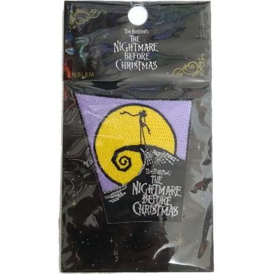 ディズニー 通販 ナイトメア ビフォア クリスマス 刺繍 ワッペン ジャック 無料ギフトラッピング ギフト お土産 おみやげ