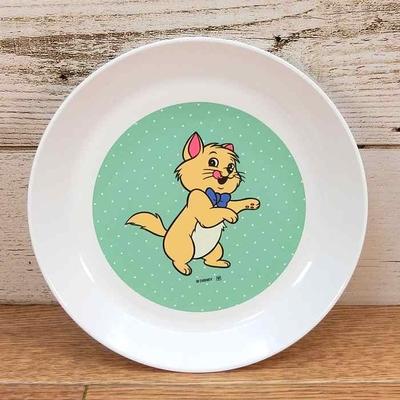 ディズニー 通販 わけあり アウトレット 新品 おしゃれキャット トゥルーズ プレート S 16cm ランチ プレート 皿 食器 お土産 おみやげ 訳あり