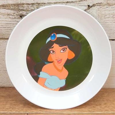 ディズニー 通販 わけあり アウトレット 新品 プリンセス ジャスミン プレート S 16cm アラジン ランチ プレート 皿 食器 お土産 おみやげ 訳あり