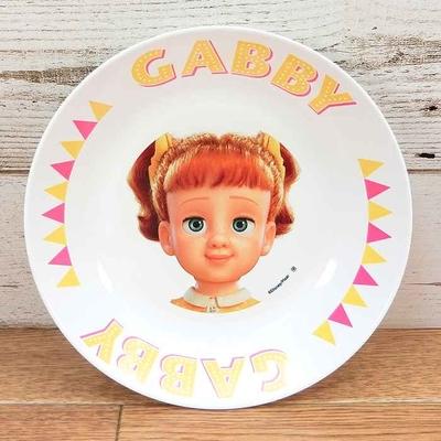 ディズニー 通販 わけあり アウトレット 新品 トイストーリー 4 ギャビー・ギャビー プレート M 18cm ランチ プレート 皿 食器 お土産 おみやげ 訳あり トイ・ストーリー