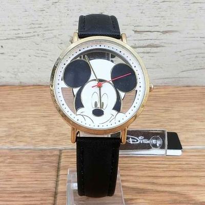 送料無料 【アウトレット】ディズニー 通販 腕時計 ミッキーマウス スケルトン 無料ギフトラッピング ミッキー おみやげ お土産 ウォッチ 男女兼用