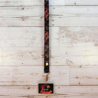 ディズニー クルーズライン 限定 ハロウィーン ランヤード ネックストラップ 通販 無料ギフトラッピング DCL ミッキー フロリダ おみやげ お土産 キャスタウェイケイ ネックピース ネックホルダー