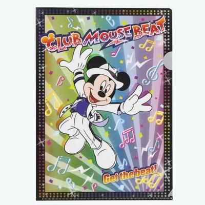 東京ディズニーランド ディズニー 通販 クラブマウスビート A4 クリアホルダー 無料ギフトラッピング ミッキーマウス TDL ディズニーリゾート ディズニーシー ミッキー クリアファイル