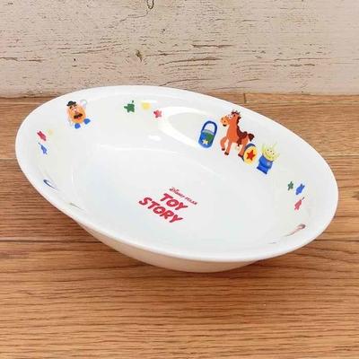 【送料無料】ディズニー 通販 わけあり アウトレット トイストーリー カレープレート 陶器 カレー 皿 食器 お土産 おみやげ 訳あり箱無 トイ・ストーリー