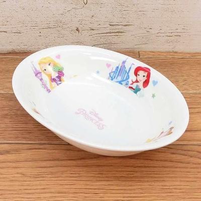 【送料無料】ディズニー 通販 わけあり アウトレット プリンセス カレープレート 陶器 カレー 皿 食器 お土産 おみやげ 訳あり箱無 シンデレラ アリエル ベル ラプンツェル